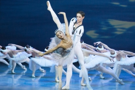 A Russian State Ballet of Siberia performance of Swan Lake